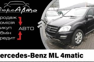 Автомобиль Mercedes Benz ML 4 Matic