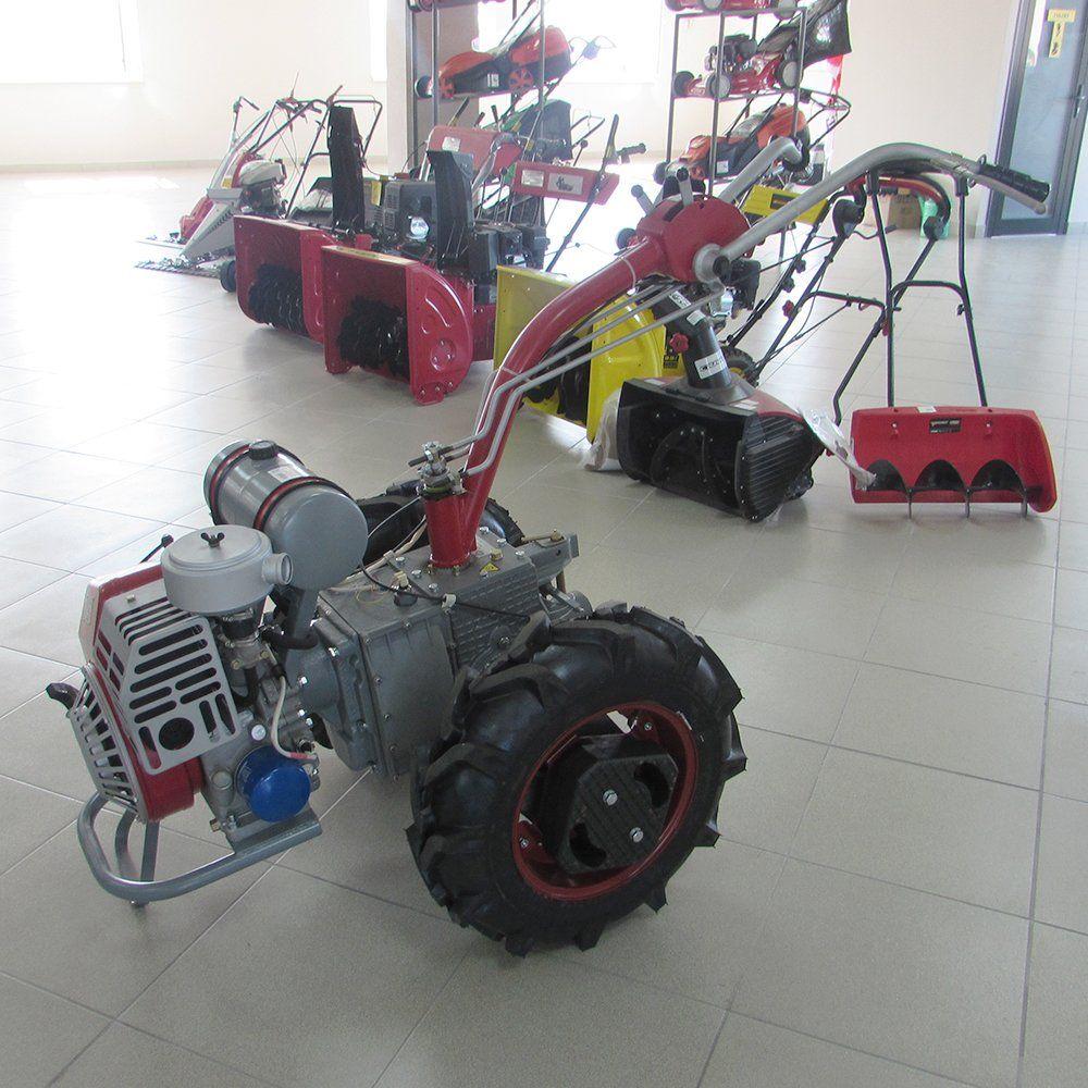 How to choose wheels for motoblock