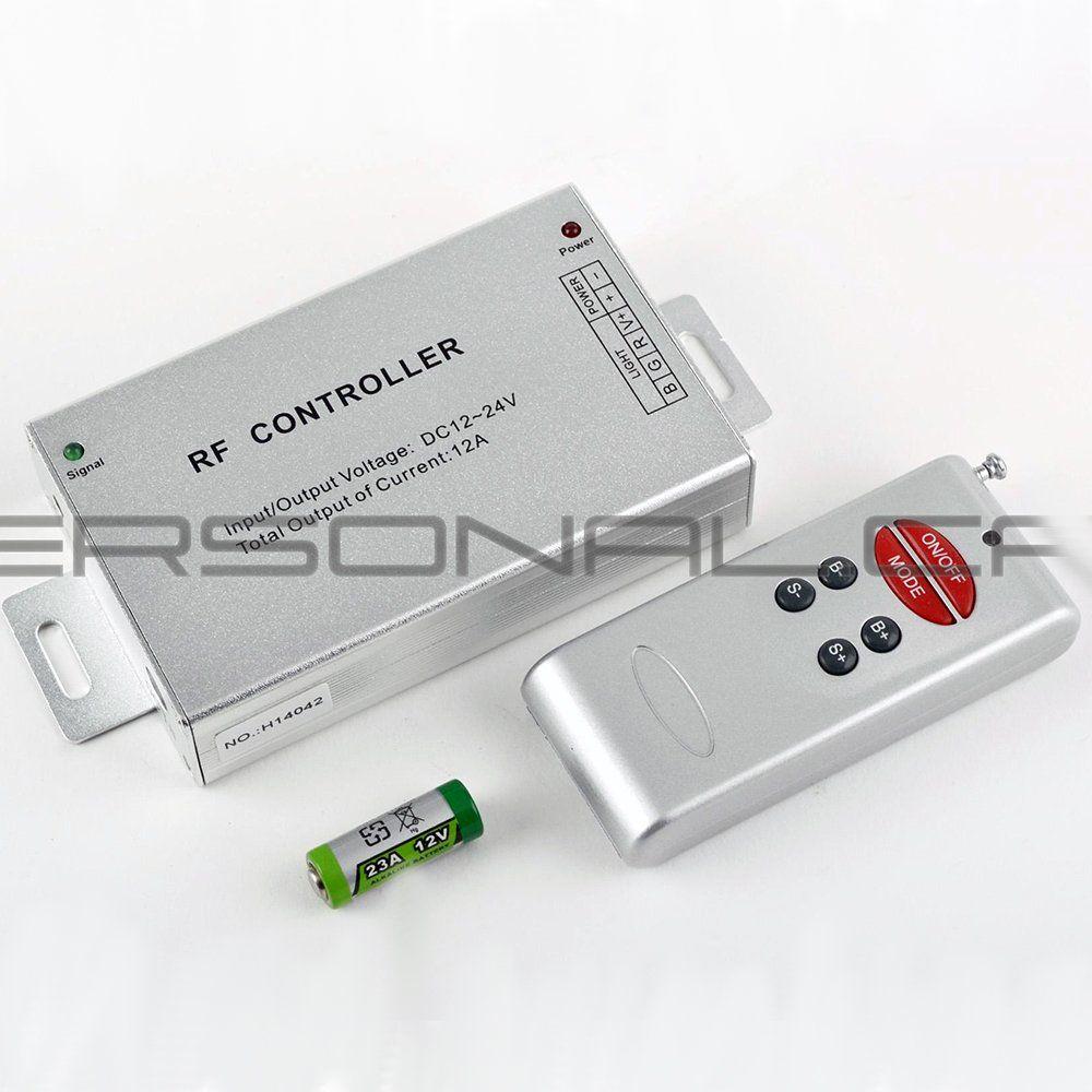 d38820d30 Predam RGB ovládač (radio diaľkové ovládanie, 6 tlačidiel), Cena ...