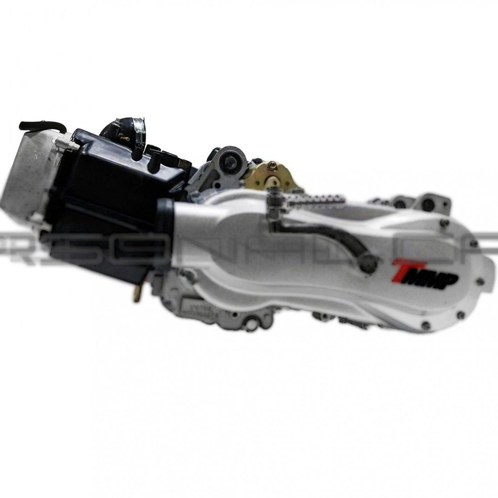 Engine with oil cooler on ATV 180 (1P63QML)