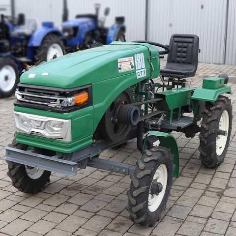 18 Le traktor