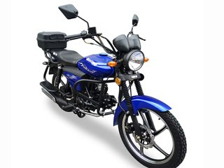 Moped Musstang Alfa New MT125-8 Fit blue
