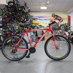 Горный велосипед Optimabikes Amulet, колеса 26, рама 21, 2015, red