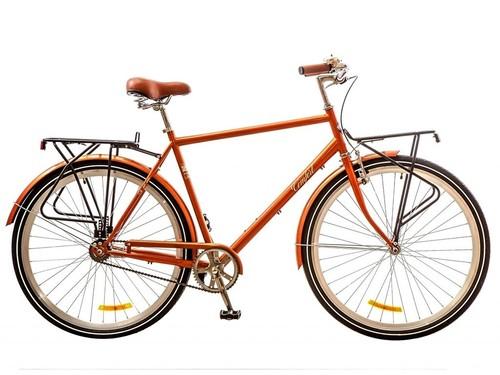 Buy City bicycle Dorozhnik Comfort Male, wheels 28, frame 22, brown ...